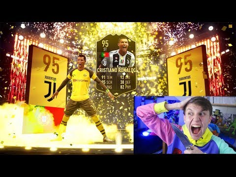 RONALDO + PELE IN THE LUCKIEST FIFA 19 PACK OPENING EVER!!!