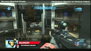 MLG D.C. 2010 ♦ Halo Reach - WB Finals ♦ Victorious Secret vs Vicious Intent ♦ Part 1