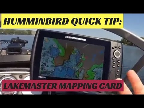 Humminbird Quick Tip: Lakemaster Mapping Card - YouTube on maps for hp, maps for magellan, maps for tomtom, maps for garmin,