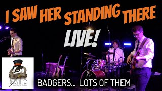 I Saw Her Standing There [The Beatles] // Badgers... Lots Of Them // LIVE COVER