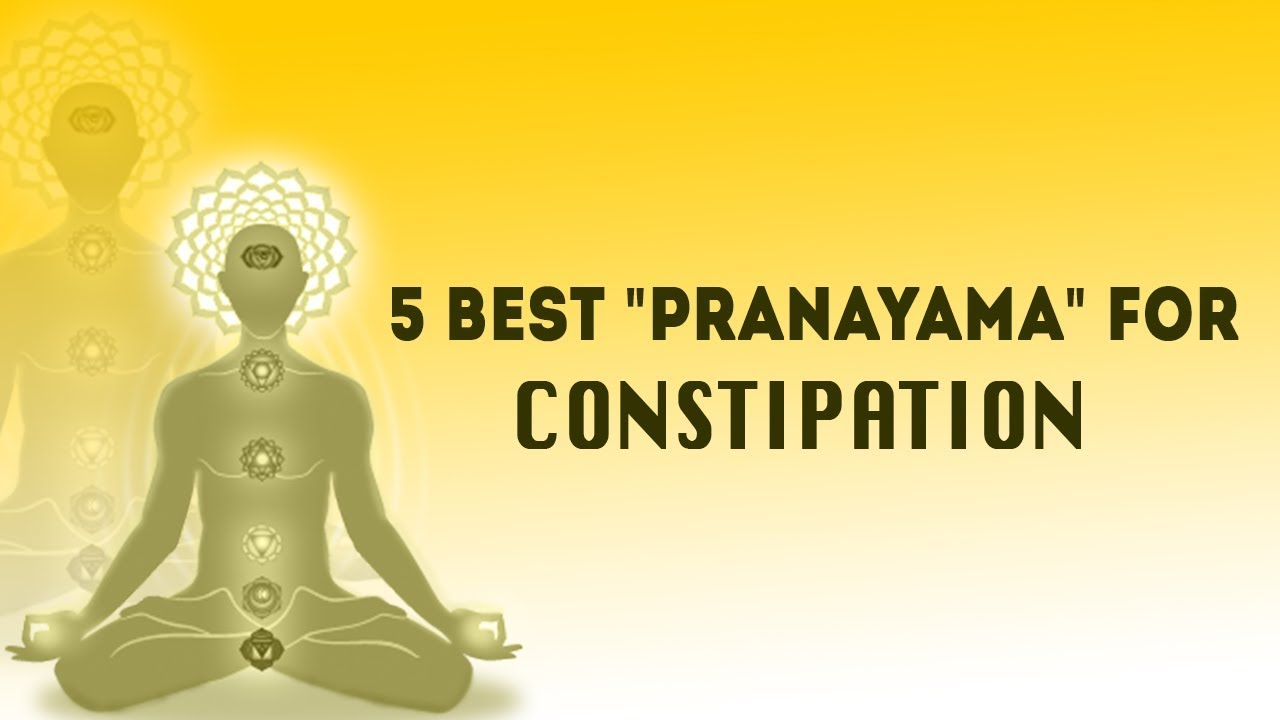 5 Best Pranayama To Cure Constipation And Gas Triyogam Yoga Therapy Youtube