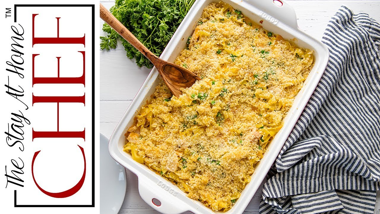 How to make the best tuna casserole the stay at home for How to make tuna fish casserole