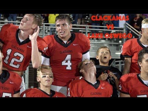 High School Football: Clackamas vs Lake Oswego 9/21/2018