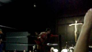 Lacey Von Erich v.s. Simply Lucious at cwf show 7/25/09 part 1