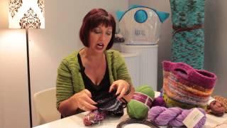 Good Knitting Yarns for Handbags : Knitting Lessons