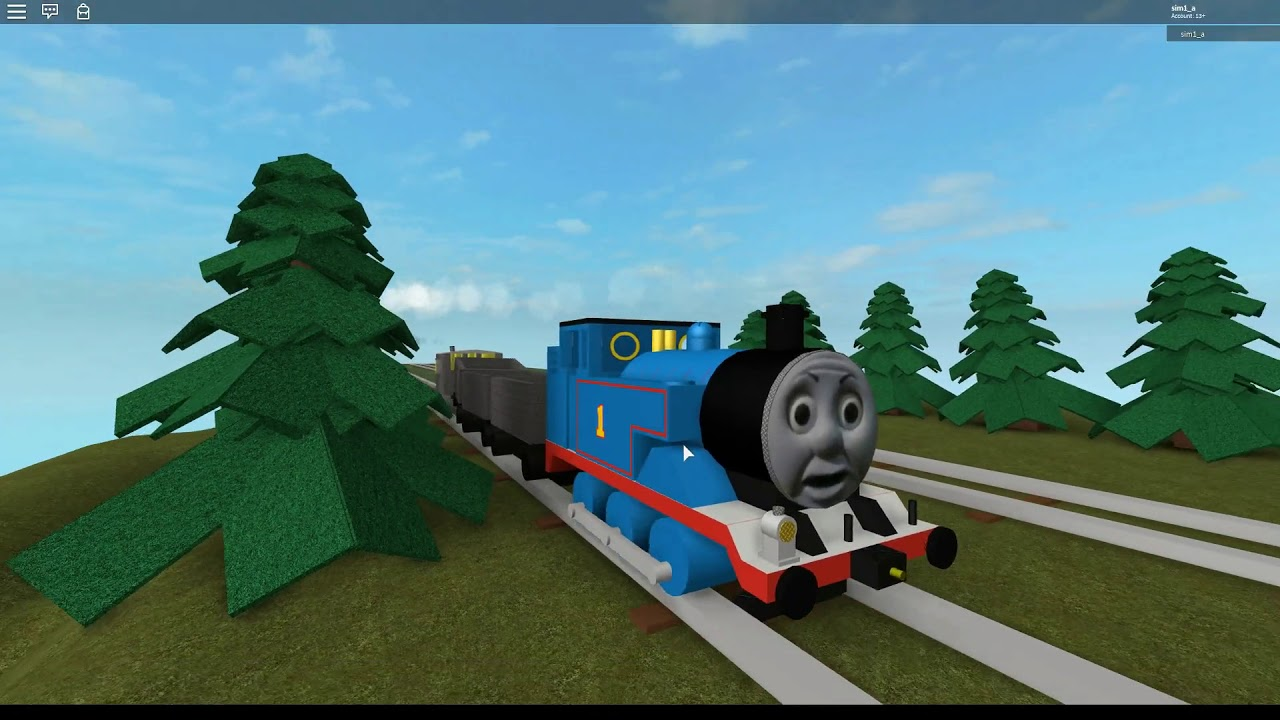 roblox thomas and friends games