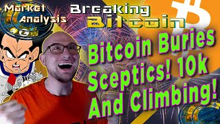 Bitcoin Buries Sceptics As It Blasts Over 10K!  IRS Cracking Down On Cryptocurrency?!