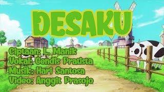 DESAKU | LAGU ANAK INDONESIA | Versi Terbaru (Lyric Video)