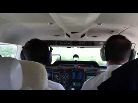Piper PA34 Seneca V, Touch and go