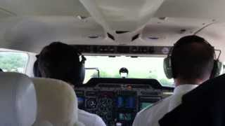 Piper PA34 Seneca V, Touch and go