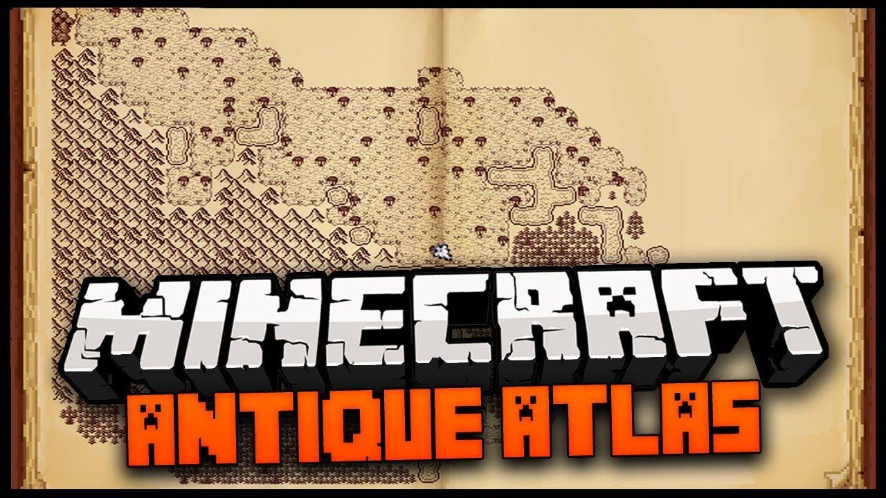 Minecraft Mod Review - Antique Atlas Mod - YouTube