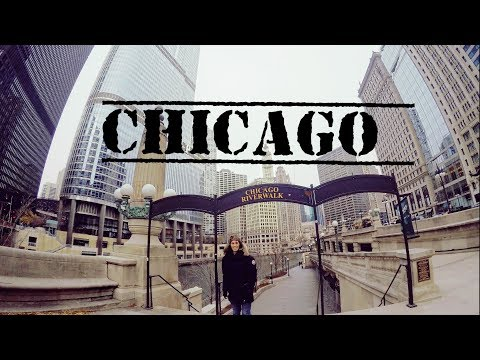 Chicago City Downtown - Illinois, USA - December 2016 - GoPro HD