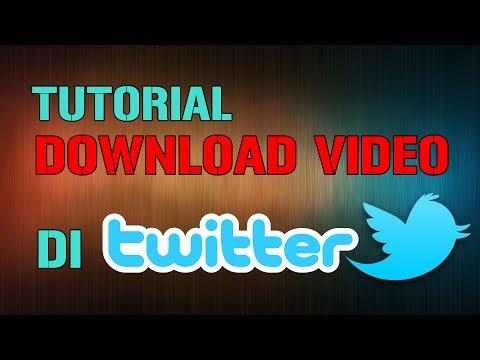 Cara Download Video Twitter (menggunakan smartphone)