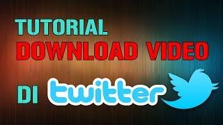 Cara Download Video Twitter (menggunakan smartphone)