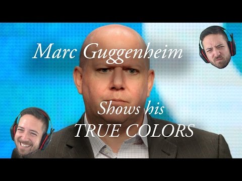 Marc Guggenheim s His True Colors AGAIN! Wonder Woman Tweet RAGE! ARROW RANT!