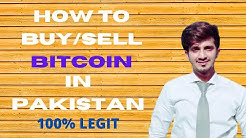 How to Buy and Sell Bitcoins in Pakistan || 100% Legit sites || 2020