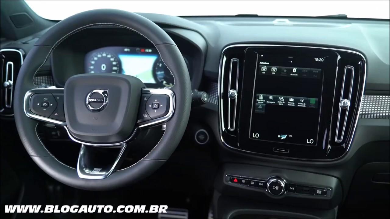 Todo O Interior Do Volvo Xc40 T5 R Design 2018 Blogauto