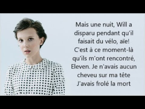 Millie Bobby Brown - Stranger Things Rap Recap (Audio + Traduction Française)