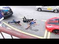 WWE moves in public fails
