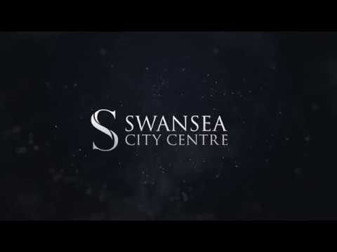 Swansea City Centre 3D Flythrough