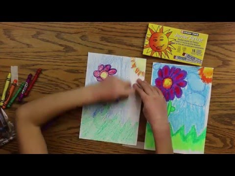 Oil Pastels vs. Crayons for Kids