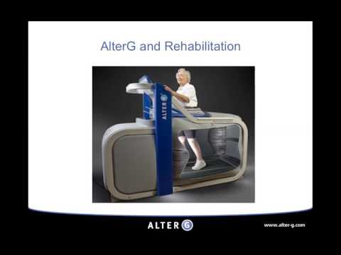 Neuro Rehabilitation w/ the Anti-Gravity Treadmill - AlterG