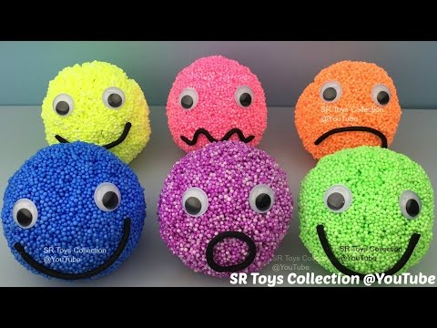 Thumbnail: Playfoam Happy Sad Smiley Face Surprise Eggs Marvel Avengers Finding Dory Star Wars Disney Pixar Toy