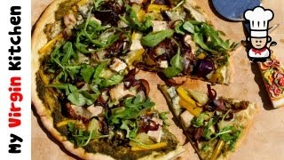 Blue Cheese & Caramelised Onion Pizza Recipe Myvirginkitchen