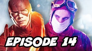 The Flash Season 3 Episode 14 - TOP 10 WTF and New Flash Explained
