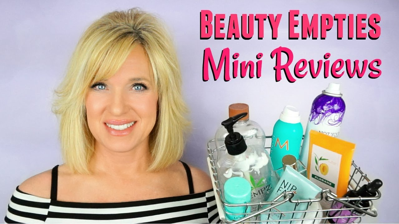 Beauty Empties MINI REVIEWS! Body Care, SKIN CARE + Hair Care!
