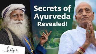 Secrets of Ayurveda With Dr. Vasant Lad & Sadhguru | @AyurPrana screenshot 2