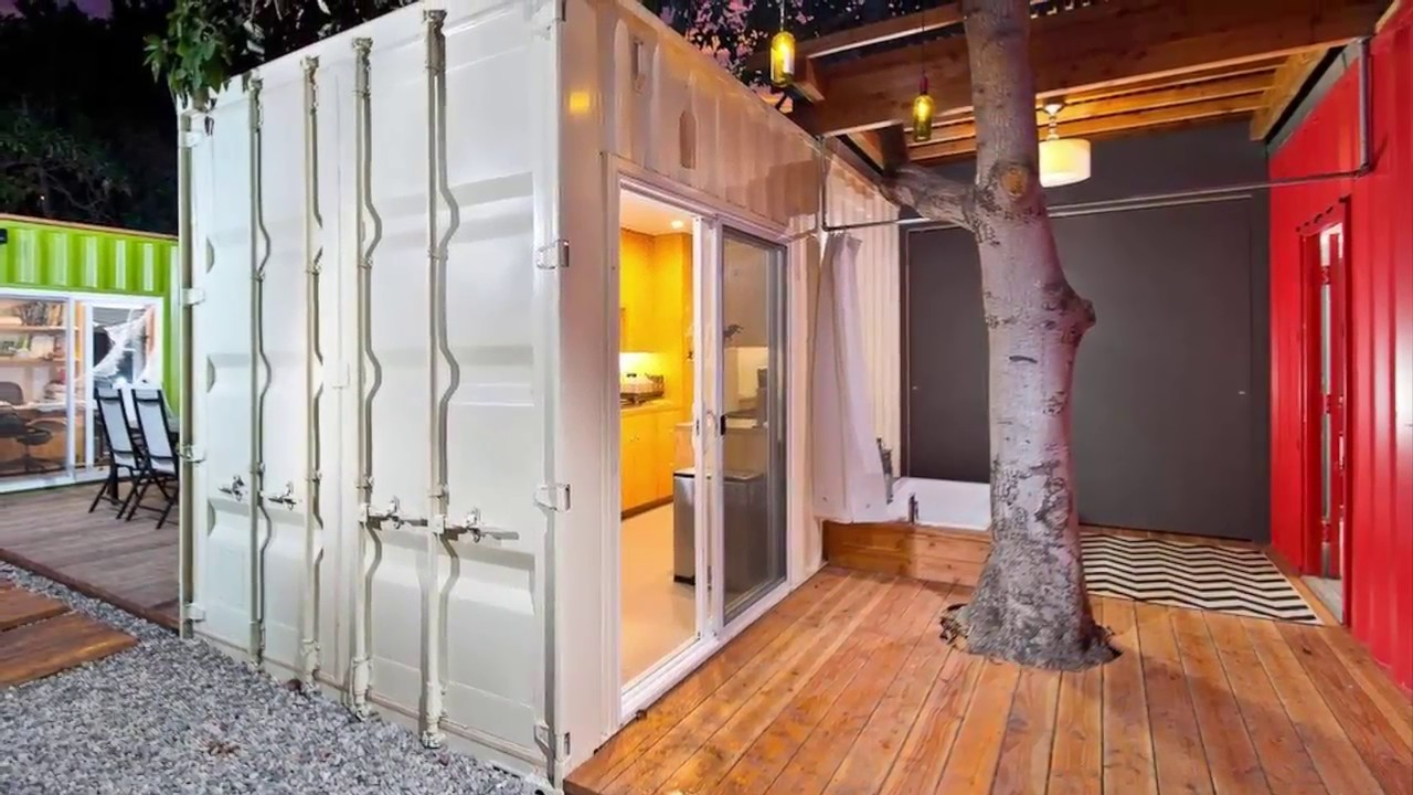 10 awesome shipping container homes design ideas - youtube
