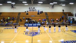 OLLU Blue Stars Dance Team (2-20-15)