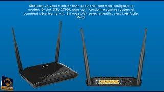 Configuration du modem D-LINK DSL-2790U - Français