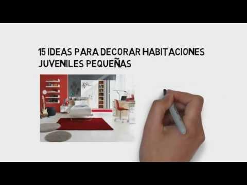 15 ideas para decorar habitaciones juveniles pequeñas [Decoración de Habitaciones]