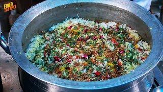 Street Food Market Sector 7 Panchkula | Amazing Dum Biryani, Lemon Ice Tea | Street Food India