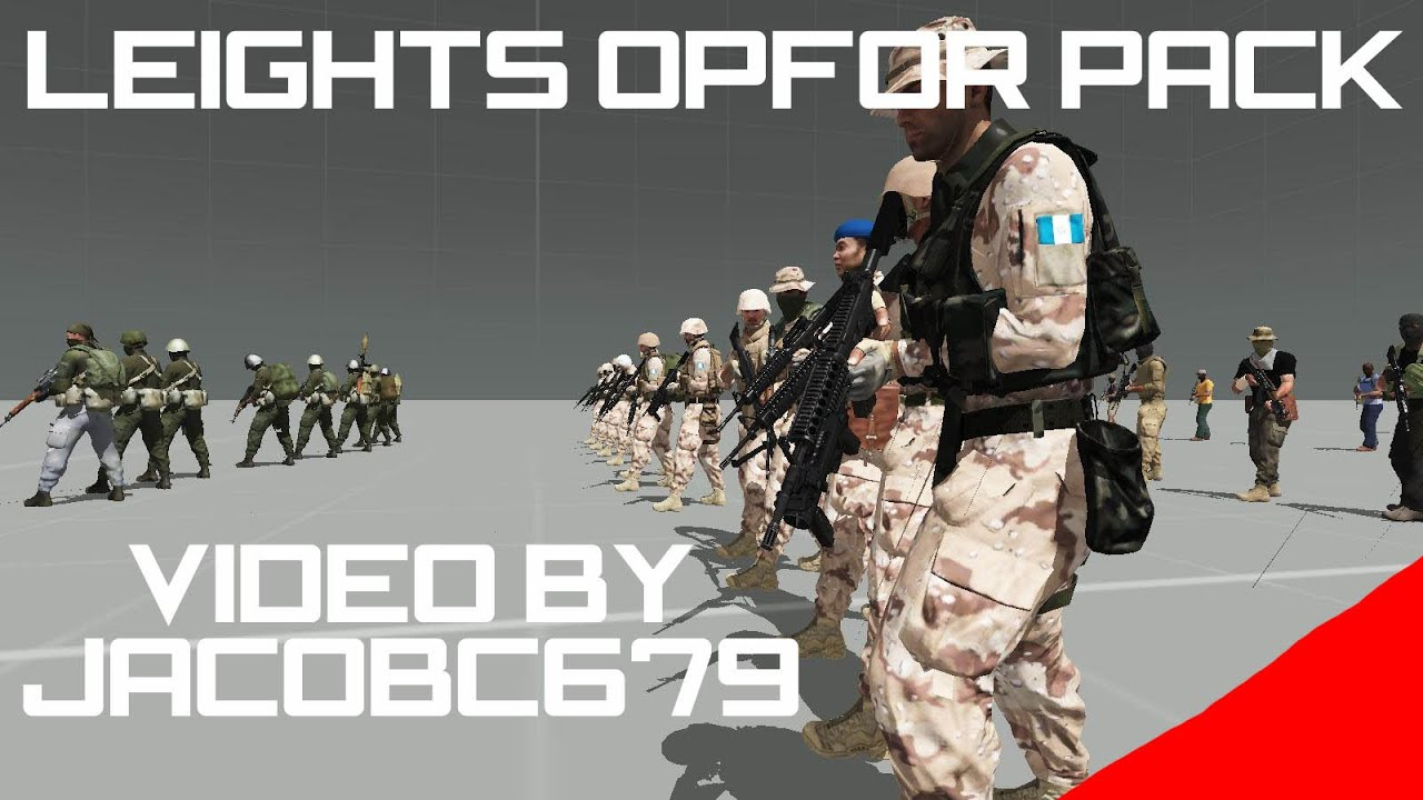 ARMA 3: Mod - Leights OPFOR Pack by JacobC679