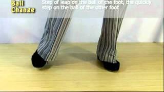 Ball Change - движение в степе. Научиться танцевать с Владимиром Марковым.