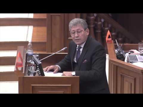 MIHAI GHIMPU, DESPRE JAFUL SECOLULUI // DISCURS ÎN PARLAMENTUL REPUBLICII MOLDOVA