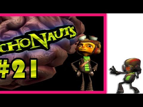 I'M ALLERGIC TO THIS GAME! | Let's Play Psychonauts #21 |