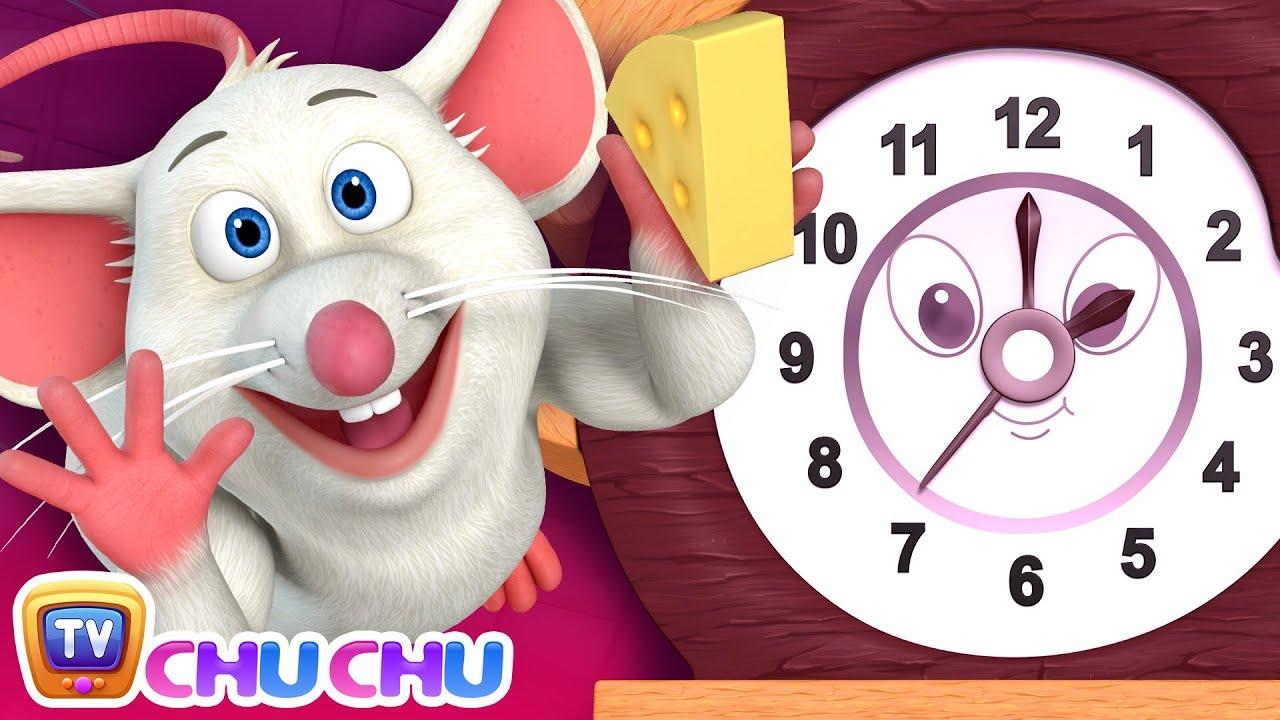 *New* Hickory Dickory Dock | ChuChu TV Nursery Rhymes & Kids Songs