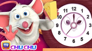 New Hickory Dickory Dock  Chuchu Tv Nursery Rhymes Andamp Kids Songs