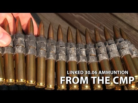 Unboxing Linked 30.06 Ammunition from the CMP - M1 Garand