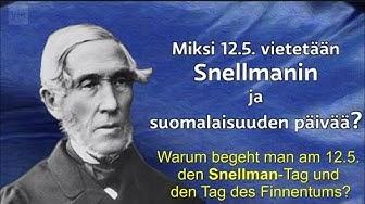 J.V. Snellman in 2 Minuten: Einer der bedeutendsten Staatsmänner Finnlands