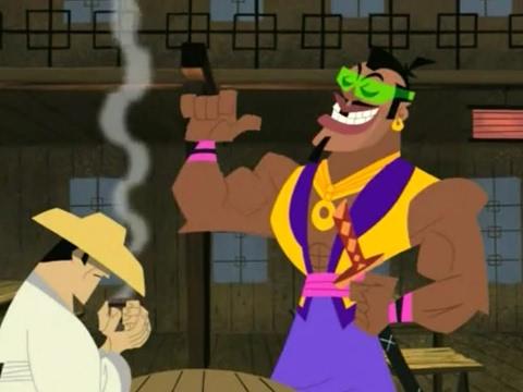 Samurai Jack S4Ep3-The Sam-Moo-Rhai challenges Jack
