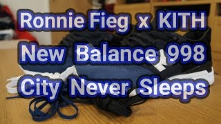 "Ronnie Fieg x KITH x New Balance 998 ""City Never Sleeps"" 