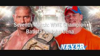 WWE Wrestlemania 26 Full Match Card Rundown [HQ]
