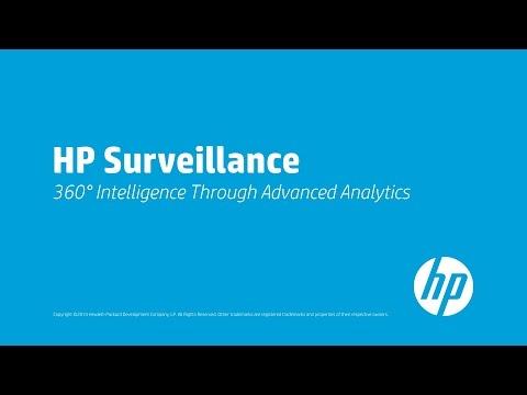 HP Surveillance - 360° Intelligence Through Advanced Analytics