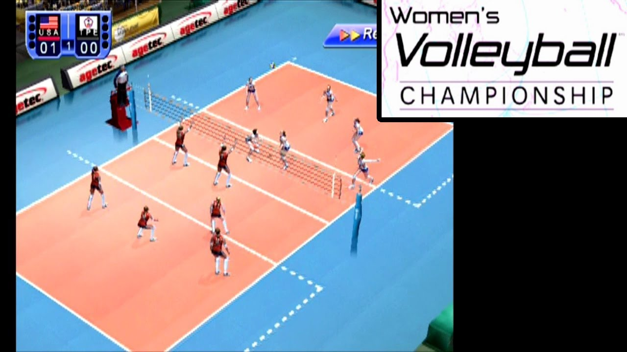 Women S Volleyball Championship Ps2 Youtube