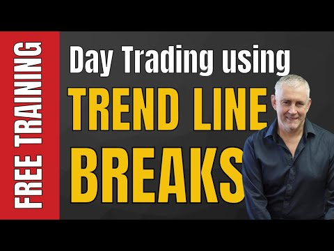 Day Trading Using Trend Line Breaks.  Part 1